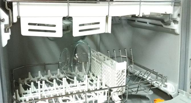 ガラスボウル 食器洗い